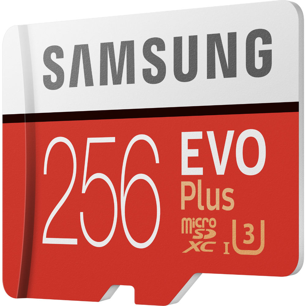 Карта памяти SAMSUNG EVO Plus 256GB UHS-I (MB-MC256HA/RU) Тип карты micro-SDXC