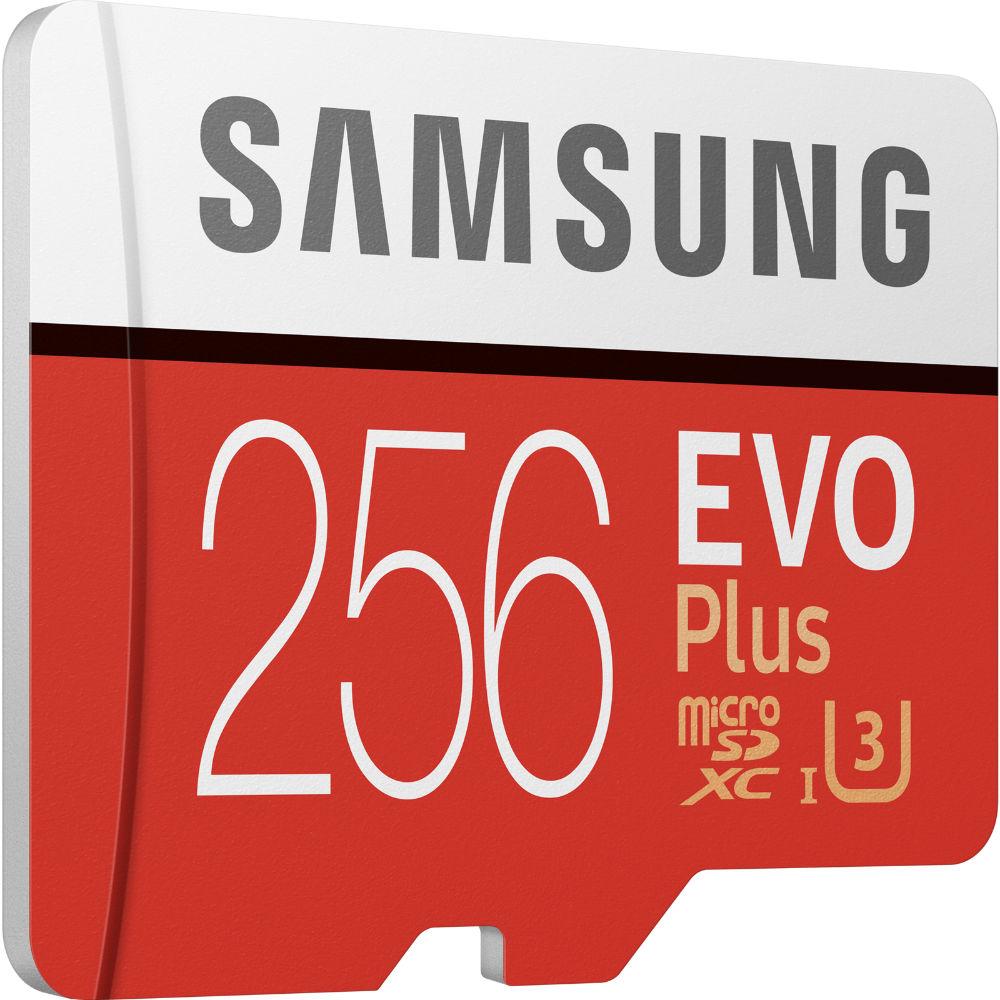 Карта памяти SAMSUNG EVO Plus 256GB UHS-I (MB-MC256HA/RU) Объём памяти 256 Гб