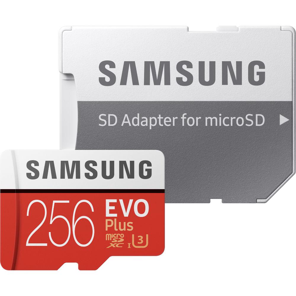 Карта памяти SAMSUNG EVO Plus 256GB UHS-I (MB-MC256HA/RU) Класс UHS-I (U3)