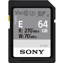 Карта памяти SONY 64 GB SDXC C10 UHS-II U3 V60 Entry (SFE64.AE)
