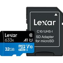 Карта памяти LEXAR microSDXC 32 GB High-Performance 633x UHS-I (LSDMI32GBB633A)