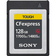Карта памяти SONY CFexpress 128 GB Type B R1700/W1480 (CEBG128.SYM)