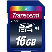 Карта памяти TRANSCEND SDHC 16 GB Class 10 (TS16GSDHC10)