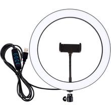 "Кольцевая LED лампа PULUZ USB 11.8"" (PU407)"