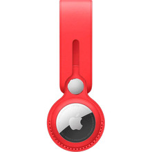 Чехол для смарт-трекера APPLE AirTag Leather Loop (PRODUCT) Red (MK0V3ZM/A)