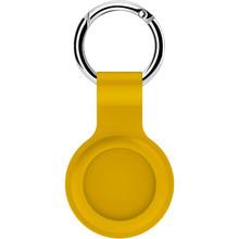 Чехол для смарт-трекера BECOVER Silicone для AirTag Yellow (706406)
