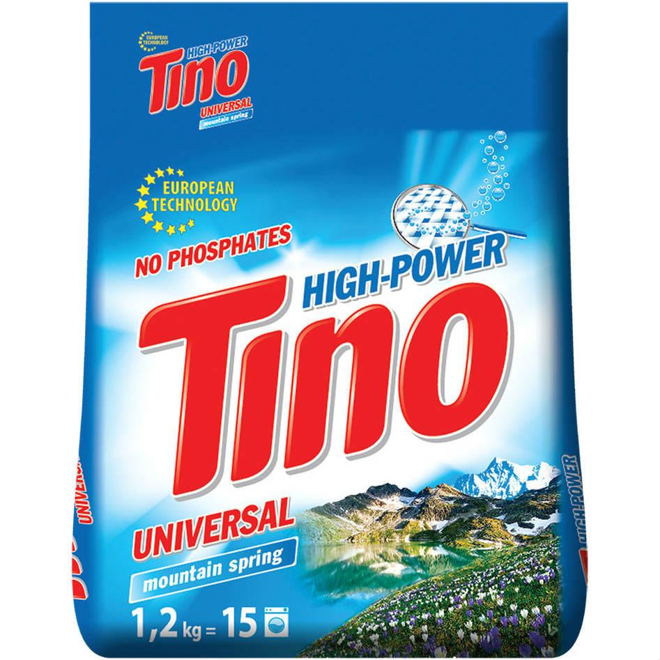Стиральный порошок TINO Mountain spring Universal 1,2 кг (4823069705596)