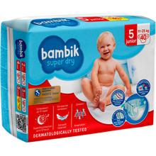 Подгузники BAMBIK Jumbo 5 JUNIOR 11-25 кг 40 шт (4823071642063)