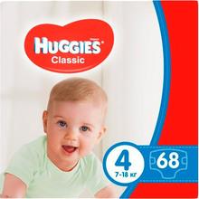 Подгузники HUGGIES Classic 4 Мegapack 68 шт (5029053543154)