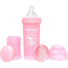Бутылочка антиколиковая TWISTSHAKE 260 мл Light pink (69863)