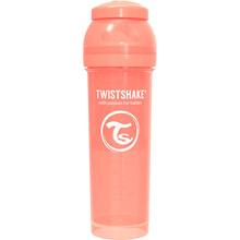 Бутылочка антиколиковая TWISTSHAKE 330 мл Light peach (69876)
