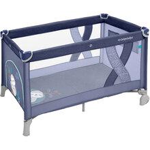 Дитяче ліжечко BABY DESIGN SIMPLE 03 BLUE