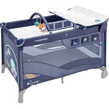 Манеж-ліжечко BABY DESIGN DREAM NEW 03 BLUE