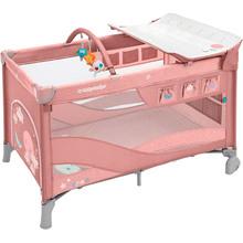 Манеж-ліжечко BABY DESIGN DREAM NEW 08 PINK