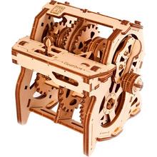 Механічний 3D пазл UKRAINIAN GEARS STEM Коробка передач (70131)
