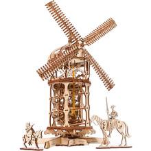 Механічний 3D пазл UKRAINIAN GEARS Вежа-Млин (70059)