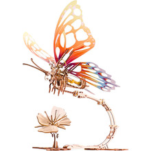 Механічний 3D пазл UKRAINIAN GEARS Метелик (70081)