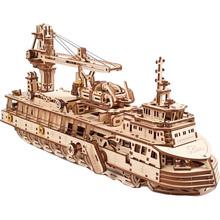 Механічний 3D пазл UKRAINIAN GEARS Науково-дослідне судно (70135)