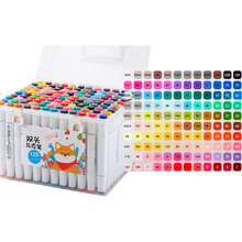 Набір маркерів TOUCH Set of colored markers Double Tips Pen 120 Colors