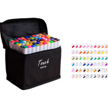 Набір маркерів TOUCH Set of colored markers Double Tips Pen 60 Colors