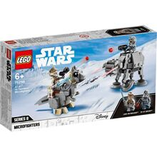 Конструктор LEGO Star Wars Микрофайтеры: AT-AT против таунтауна 205 деталей (75298)