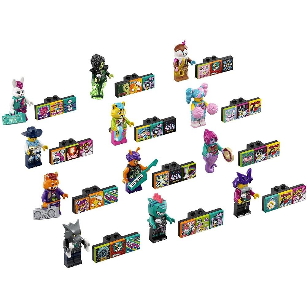 Конструктор LEGO VIDIYO Bandmates Бэндмейты 11 деталей (43101) Тип классический