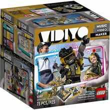 Конструктор LEGO VIDIYO Куб бітбокс Робот-репер 73 деталі (43107)