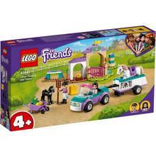 Конструктор LEGO Friends Тренировка лошади и прицеп для перевозки 148 деталей (41441)
