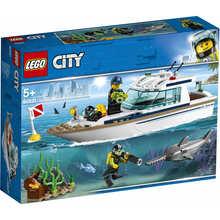 Конструктор LEGO City Яхта для дайвінгу 148 деталей (60221)