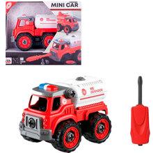 Конструктор DIY SPATIAL CREATIVITY Пожарная цистерна LM9035 (CJ-1614180)