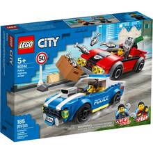 Конструктор LEGO City Арешт на шосе 185 деталей (60242)