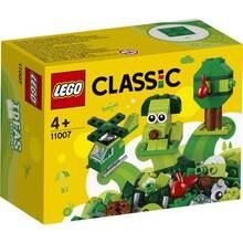 Конструктор LEGO Classic Набір для конструювання зелений 60 деталей (11007)