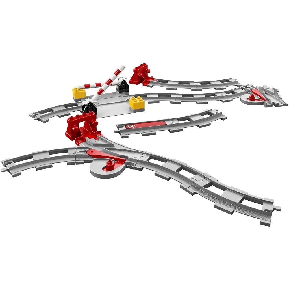 Конструктор LEGO DUPLO Town Рельсы 23 детали (10882) Тип классический