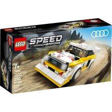 Конструктор LEGO Speed Champions 1985 Audi Sport quattro S1 250 деталей (76897)