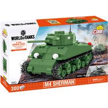 Конструктор COBI Танк M4 Шерман 300 деталей (COBI-3063)