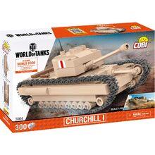 Конструктор COBI Танк Черчилль 300 деталей (COBI-3064)