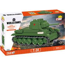 Конструктор COBI Танк Т-34 268 деталей (COBI-3061)