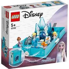 Конструктор LEGO Disney Princess Книга приключений Эльзы и НОКК 125 деталей (43189)