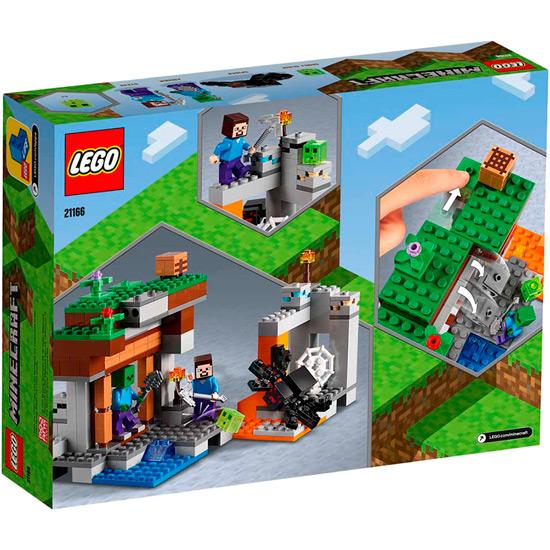 Конструктор LEGO Minecraft Заброшенная шахта 248 деталей (21166) Тематика тематический