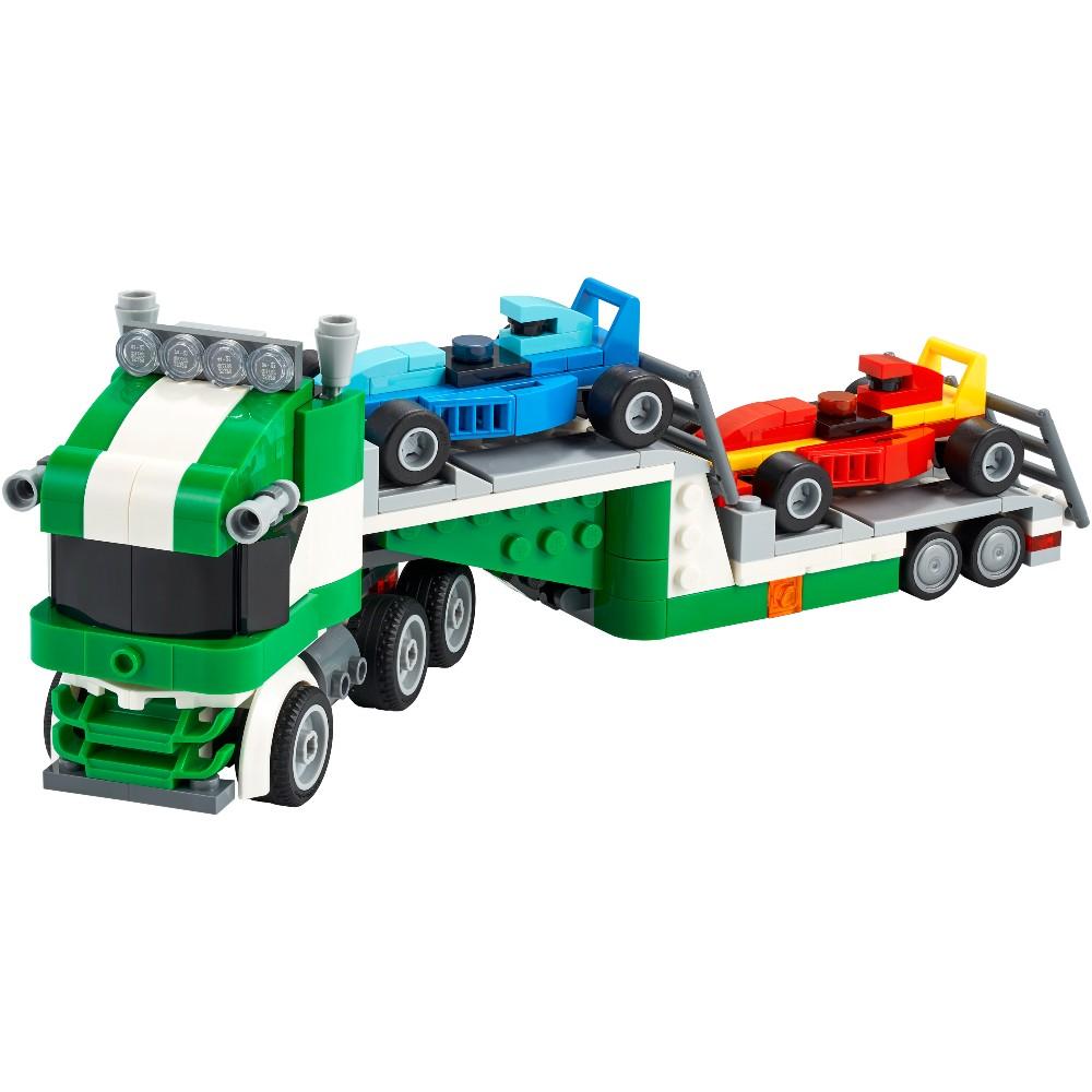 Конструктор LEGO Creator Транспортировщик гоночных автомобилей 328 деталей (31113) Тип классический