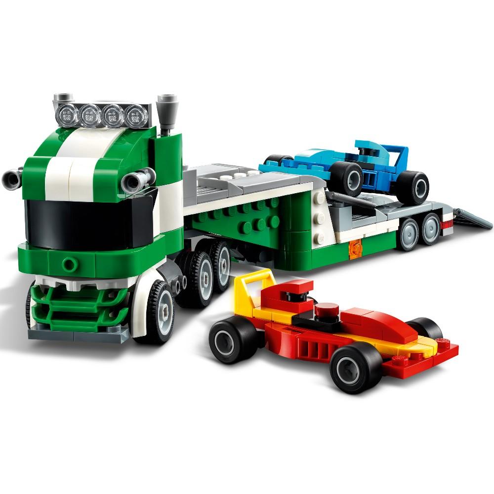 Конструктор LEGO Creator Транспортировщик гоночных автомобилей 328 деталей (31113) Тематика транспорт