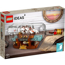 Конструктор LEGO Ideas Корабель у пляшці 962 деталей (92177)
