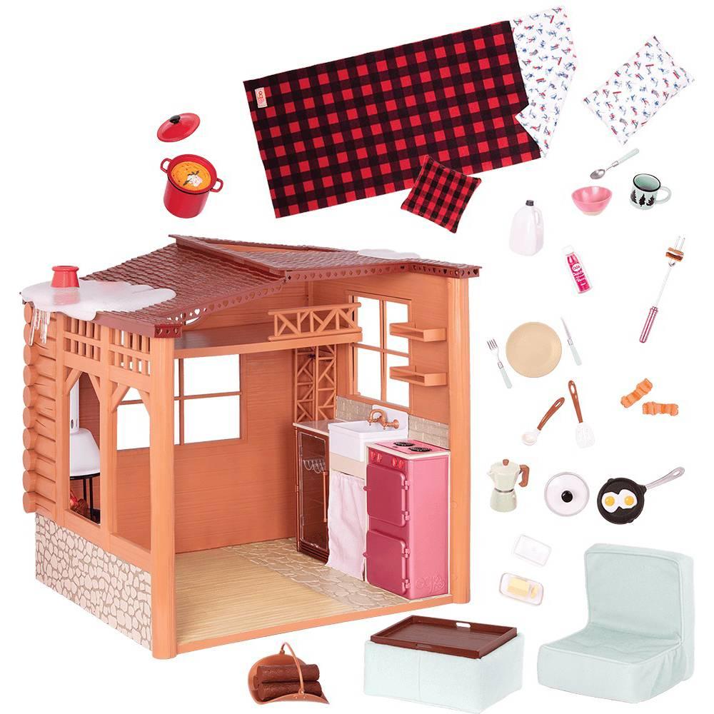 Игровой набор OUR GENERATION Дом Cozy Cabin (BD37961) Тип игрушечные дома