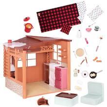 Игровой набор OUR GENERATION Дом Cozy Cabin (BD37961)