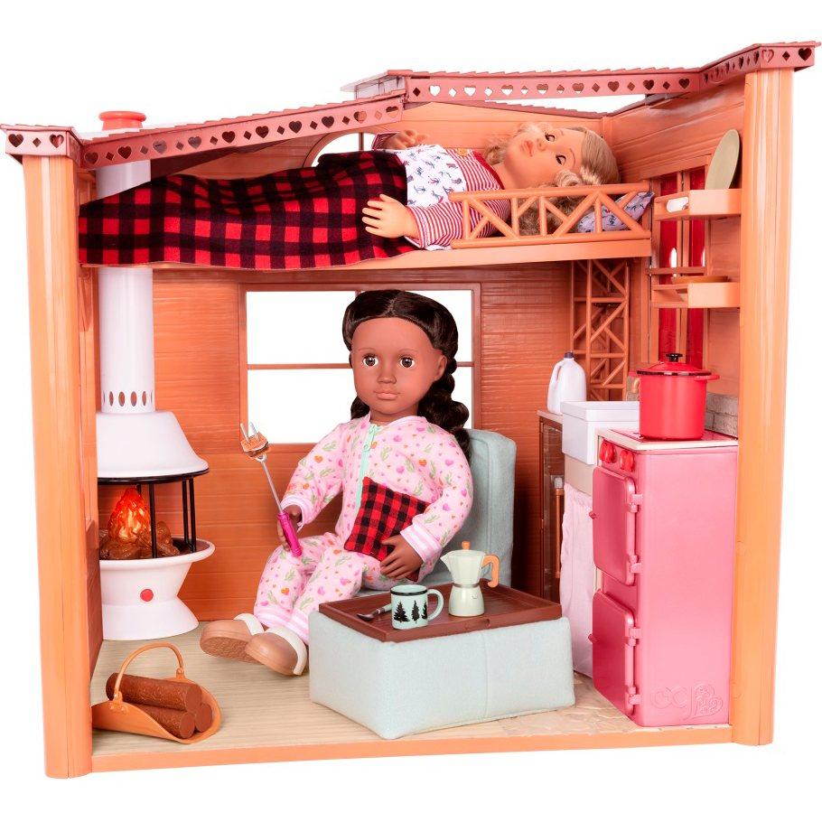 Игровой набор OUR GENERATION Дом Cozy Cabin (BD37961) Для кого для девочек