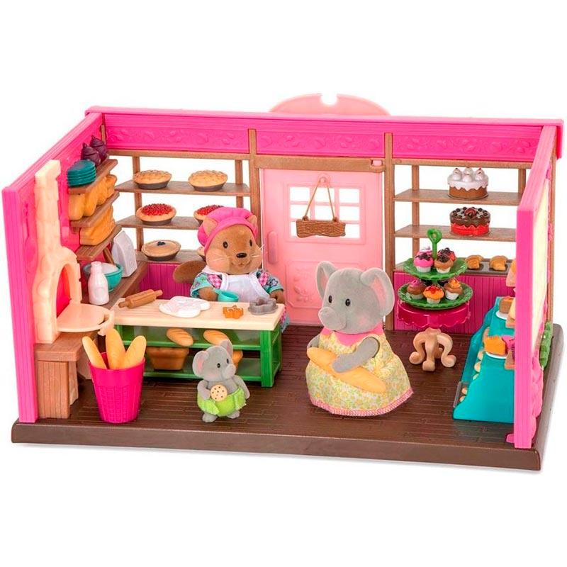 Игровой набор Li`l Woodzeez Пекарня (WZ6619) Тип детский супермаркет