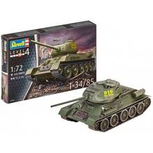 Сборная модель REVELL Танк Т-34/85. Масштаб 1:72 (RVL-03302)