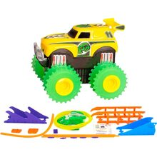 Машинка Trix Trux AS331 желтая (JLT-AS331Y)