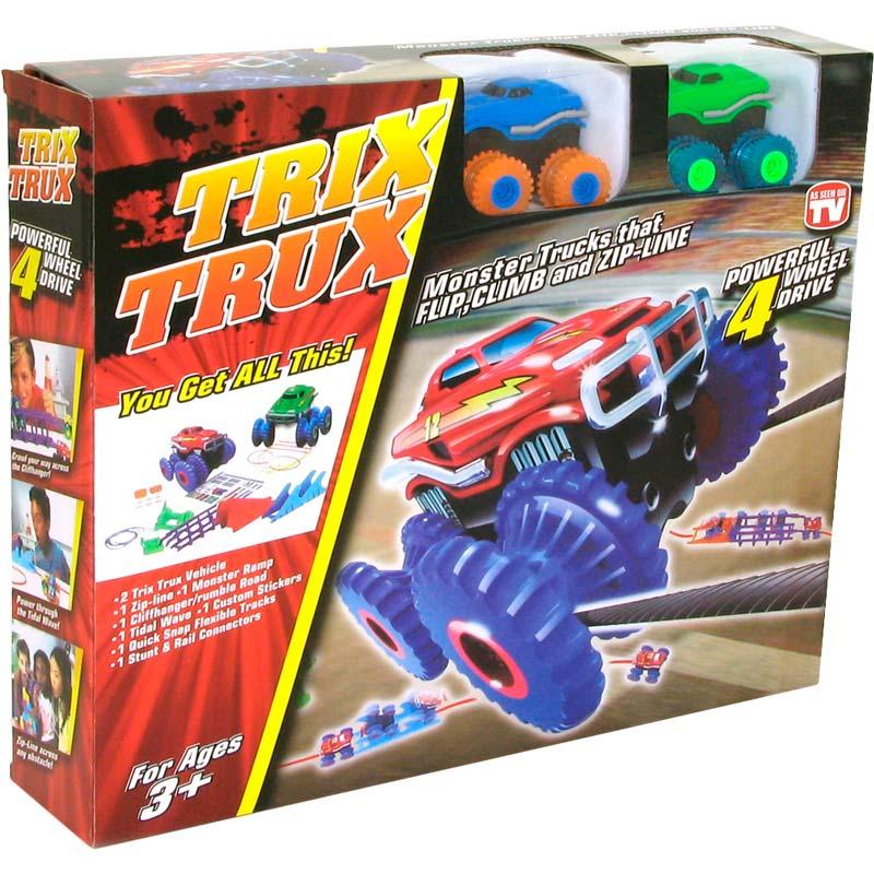 Набор машинок Trix Trux 2 машинки AS332 синяя и зеленая (JLT-AS332BG) Возраст от 3 лет