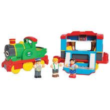 Паровоз WOW TOYS Sam's Steam Train (08000)